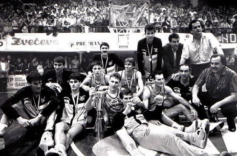 Jugoplastika, šampion države 1988. godine
