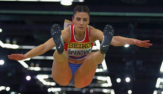 Skakačica u dalj Ivana Španović