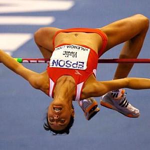 Blanka Vlašić, šampionka Evrope u dvorani 2008. i 2010. godine