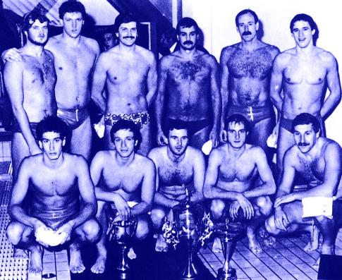 Ekipa dubrovačkog Juga, šampion Evrope