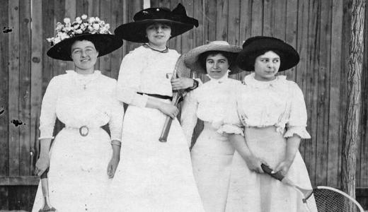 Ženski parovi na Vimbldonu