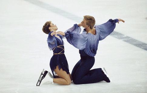 Džejn Torvil i Kristofer Din (FOTO: Trevor Jones/Getty Images)