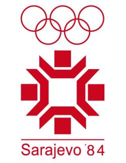 Logo Zimskih olimpijskih igara u Sarajevu
