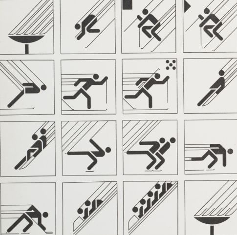 Piktogrami za ZOI 1984. godine
