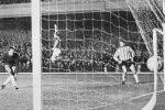 Detalj sa utakmice Rendžers - Crvena zvezda iz 1964. godine