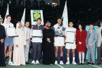 Goran Ivanišević (sa trofejem), pobednik turnira u Dubaiju 1996. godine
