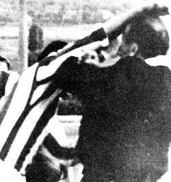 Fotografija Mome Vučićevića, trenutak kada Šekularac udara sudiju Tumbasa