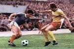 Jugoslavija - Rumunija 0:2, 8. maj 1977. godine: Fantastična kontrola lopte Danila Popivode (plavi dres)