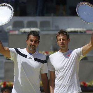 Nenad Zimonjić i Daniel Nestor, osvajači turnira u Madridu 2014. godine