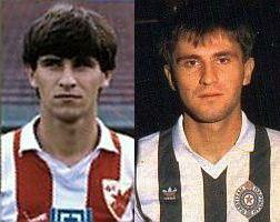 Goran Milojević u dresu Zvezde i Partizana