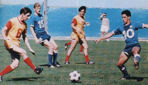 Detalj sa prve finalne utakmice Baltimor Bejz – Ouklend Klipers 1:0. Domaćini su u žuto-crvenoj kombinaciji