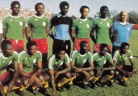 Branko Žutić sa ekipom Kameruna
