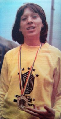 Najveći uspeh u karijeri: Breda Pergar sa zlatnom medaljom osvojenom u Bukureštu