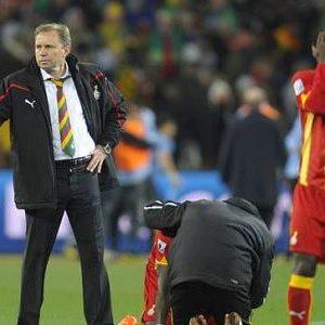 Milovan Rajevac nakon utakmice Gana - Urugvaj na Svetskom kupu 2010. godine