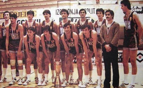 Ekipa Bosne koja je drugi put u klupskoj istoriji postala šampion Jugoslavije