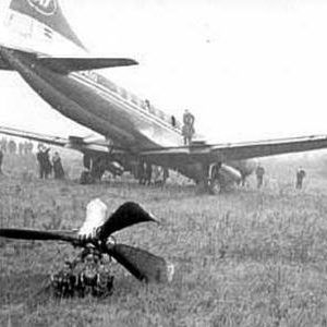 "Aeroplan ""nasukan"" na lajpciškom aerodromu (FOTO: dnevnik.rs)"