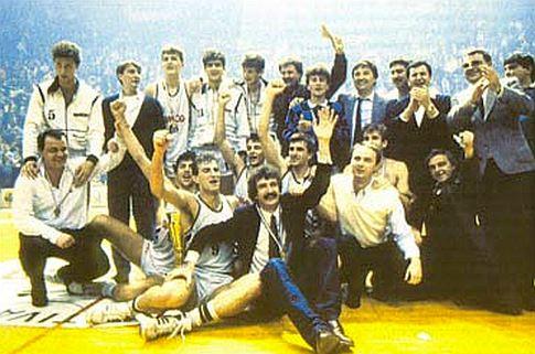 Košarkaši beogradskog Partizana, državni šampioni 1987. godine