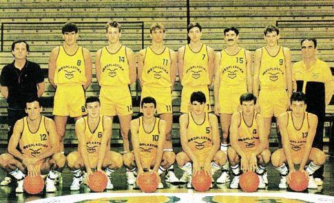 Košarkaši splitske Jugoplastike, prvaci Jugoslavije 1989. godine
