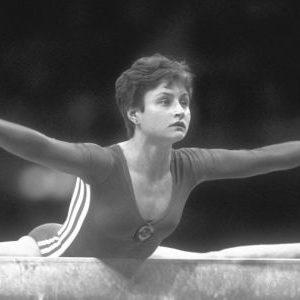 Elena Šušunova. pobednica u gimnastičkom višeboju