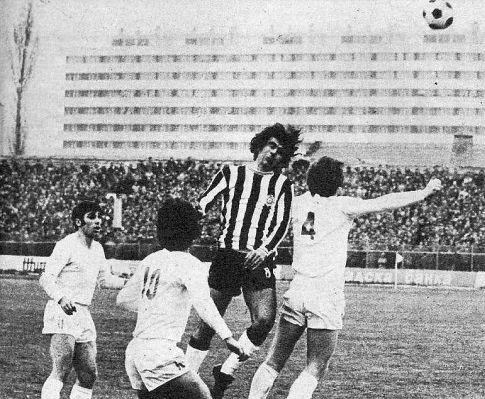 Detalj sa utakmice u Radnički (Niš) - Partizan 1:1