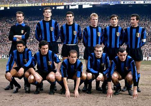 Ekipa Intera iz doba kada je dva puta uzastopno osvojila Evropu