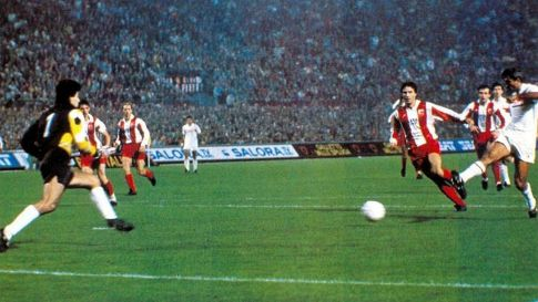 """Paolo Virdis postiže izjednačujući pogodak na """"San Siru"""""""