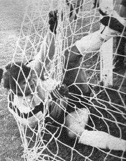 Partizan - OFK 0:2: Golman gostiju Petar Borota našao se u mreži, ali ne i lopta ...