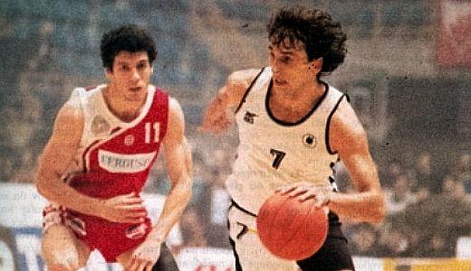 Zoki Radović (Zvezda) i Bane Prelević (PAOK)