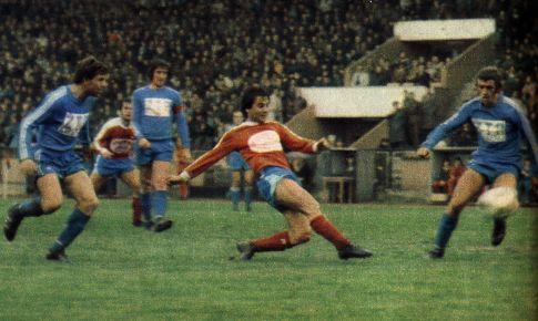Borac - Željezničar 2:1: Vlada Ćulafić postiže prvi gol za domaćine