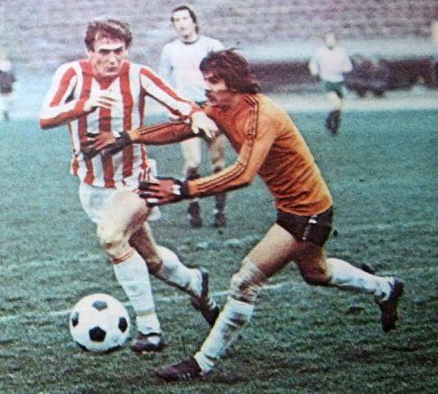 Crvena zvezda - Olimpija 1:0: Duel Seada Sušića (Zvezda) i čuvara mreže Ljubljančana Ljubiše Dalanovića