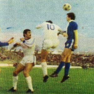 Detalj sa utakmice 20. kola Radnički (Niš) - Rijeka 1:0
