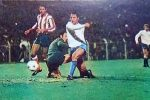 Slaviša Žungul postiže vodeći gol protivu madridskog Atletika