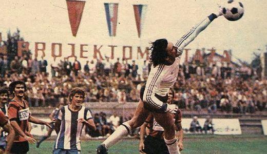 Detalj sa utakmice OFK - Vardar na vetrovitoj Karaburmi