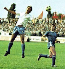 Šime Luketin (beli dres, Hajduk) u meču sa OFK Beogradom