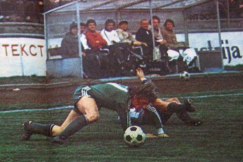 """OFK Beograd - Olimpija 1:1: Napadač """"zmajčeka"""" Janez Voljč"""