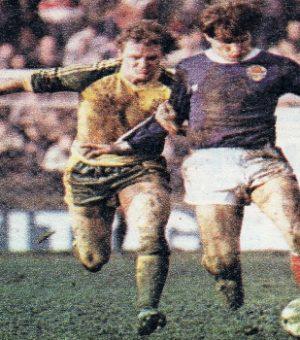 Detalj sa utakmice Jugoslavija - Vels 4:4